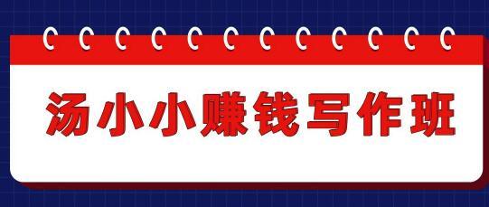 唐潇潇赚钱写作课,半个月赚3800元,一个月变成一万很正常(值699元)更新